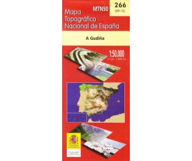 Węgry mapa laminowana