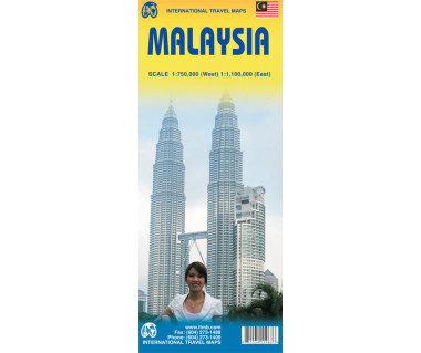 Malaysia - Mapa