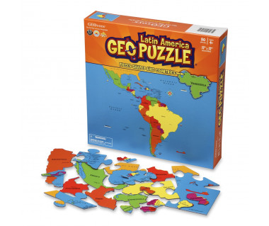 GeoPuzzle Latin America 50