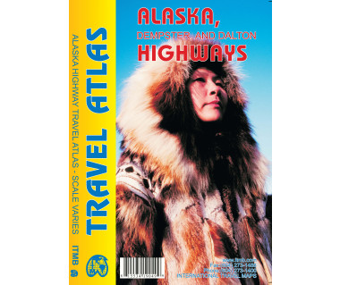 Alaska, Dempster and Dalton Highways Travel Atlas
