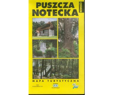 Puszcza Notecka - Mapa