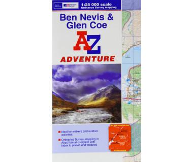 Ben Nevis & Glen Coe atlas
