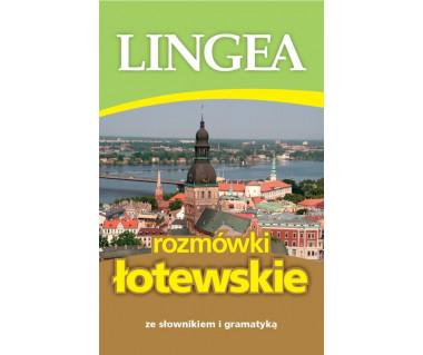 Rozmówki łotewskie ze słownikiem i gramatyką