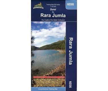 Dunai to Rara Jumla (NS506) - Mapa