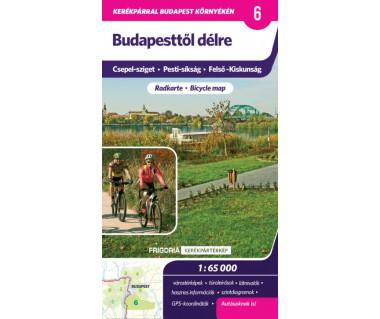 Budapesttol delre (6) mapa rowerowa