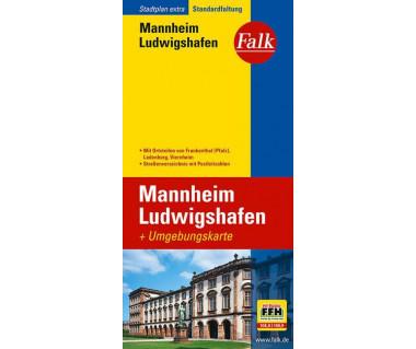 Mannheim/Ludwigshaven - Mapa