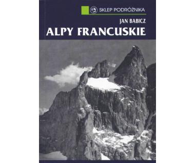 Alpy Francuskie dodruk czarno-biały