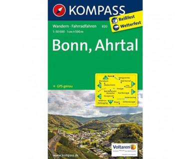 Bonn, Ahrtal - Mapa