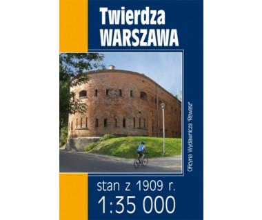 Twierdza Warszawa - Mapa