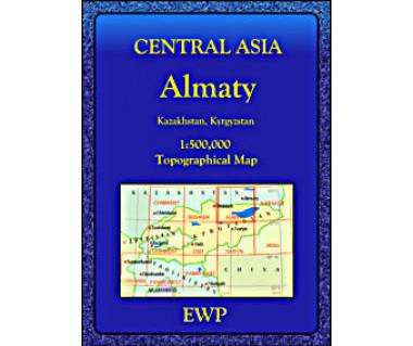 Central Asia Almaty - Mapa