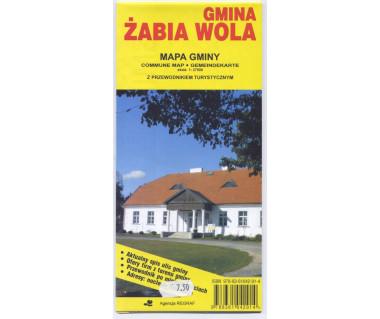 Żabia Wola gmina - Mapa