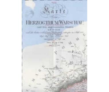 Królestwo Polskie 1914 + Księstwo Warszawskie 1810 (2 mapy)