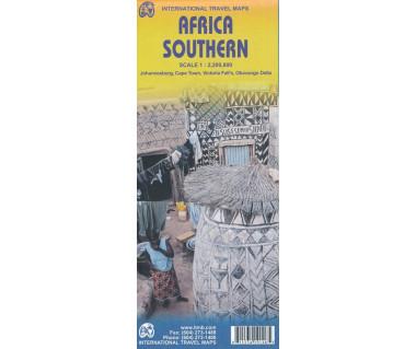Africa Southern - Mapa