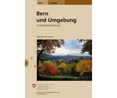 Bern und Umgebung - Mapa turystyczna