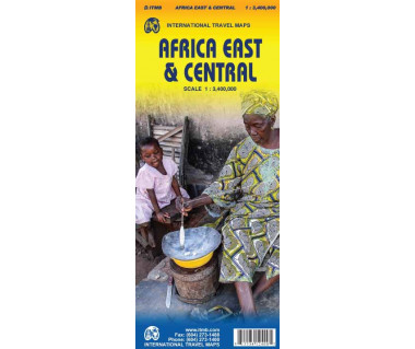 Africa East & Central - Mapa