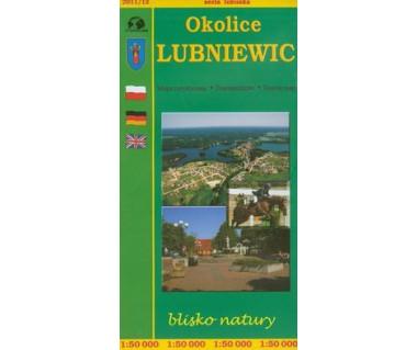 Okolice Lubniewic - Mapa