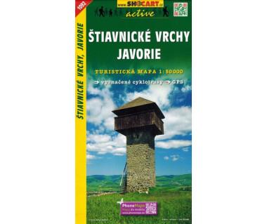 CT50 1092 Stiavnicke vrchy, Javorie