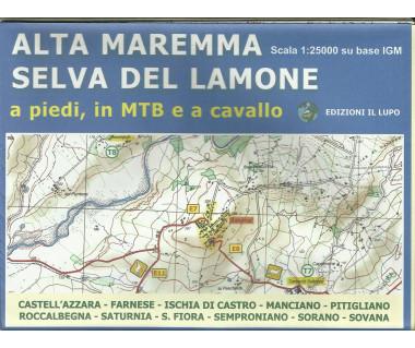 Alta Maremma Selva del Lamone - Mapa