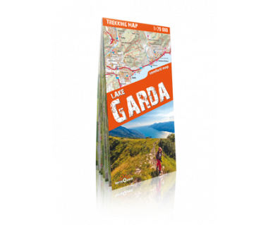 Lake Garda trekking map