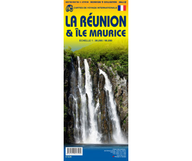 Mauritius & Reunion - Mapa