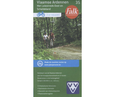Vlaamse Ardennen (35) - Mapa rowerowa