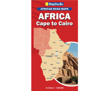 Africa Cape to Cairo - Mapa