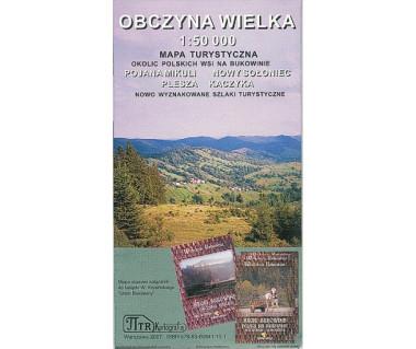 Bukowina - Obczyna Wielka mapa turystyczna