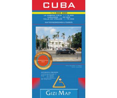Cuba (geographical) - Mapa