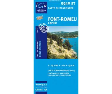 IGN 2249ET Font-Romeu, Capcir