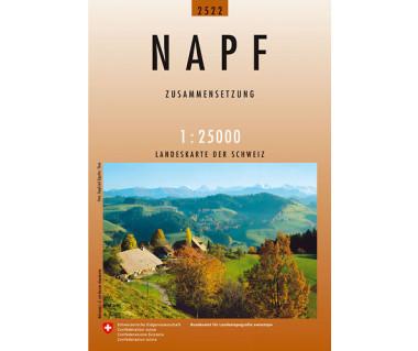 Napf - Mapa turystyczna