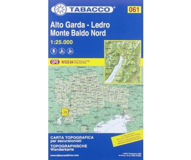 TAB061 Alto Garda - Ledro, Monte Baldo Nord