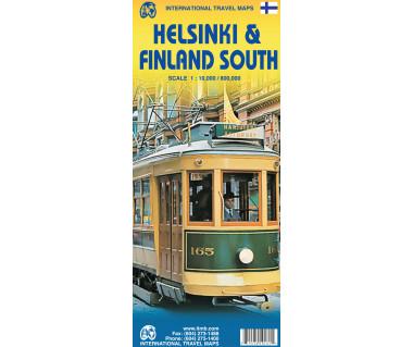 Helsinki & Finland South - Mapa