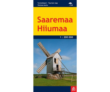 Saaremaa, Hiiumaa - Mapa