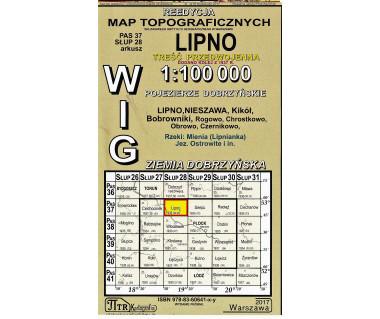 WIG 37/28 Lipno (plansza) reedycja z 1935 r.