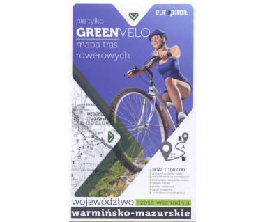 Green Velo mapa rowerowa Województwo Warmińsko-Mazurskie cz. wschodnia