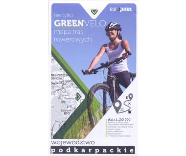 Green Velo mapa rowerowa Województwo Podkarpackie