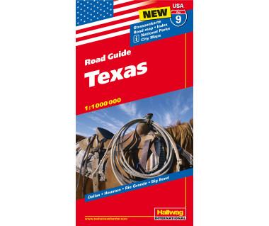 USA (9) Texas - Mapa