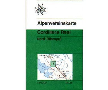 Cordillera Real Nord (Illampu),(0/8) - Mapa turystyczna