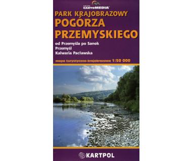 Park Krajobrazowy Pogórza Przemyskiego - Mapa
