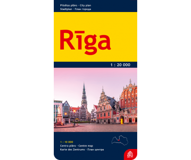 Riga city plan