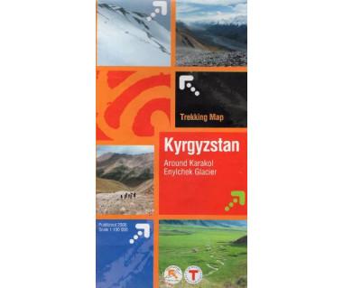 Kyrgyzstan, Around Karakol, Enylchek Glacier