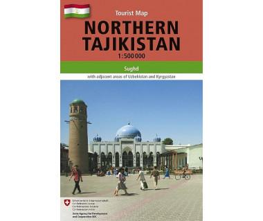 Tajikistan northern - Mapa