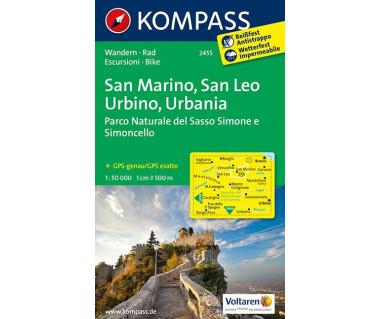 K 2455 San Marino, San Leo, Urbino, Urbania
