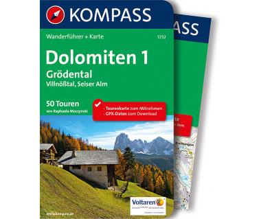 WF 5732 Dolomiten 1, Grödental - Villnößtal - Seiser Alm
