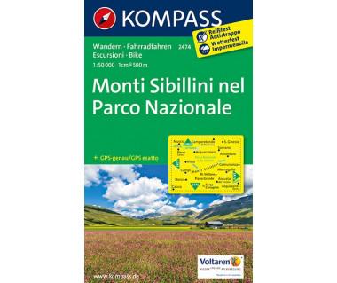 K 2474 Monti Sibillini nel Parco Nazionale