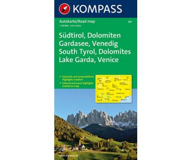 K 259 Sudtirol, Dolomiten, Gardasee, Venedig