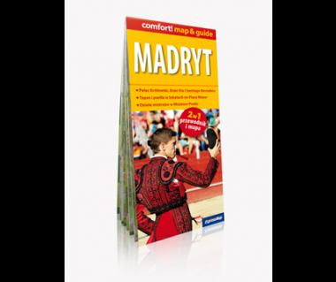 Madryt (mapa+miniprzewodnik)
