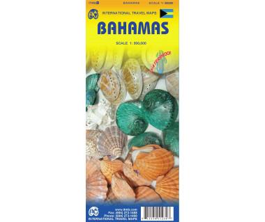 Bahamas - Mapa wodoodporna