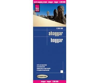 Ahaggar/Hoggar - Mapa wodoodporna