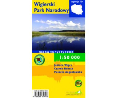 Wigierski Park Narodowy - Mapa